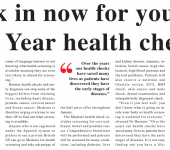 new year health check