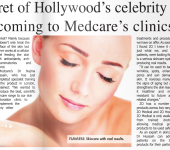Secret of celebrity skin