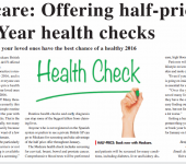 half price new year health checks