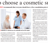 how to choose a cosmetic surgeon