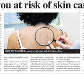 are you at risk of skin cancer