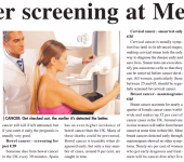 cancer screening at medcare