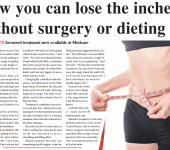 lose inches without surgery or dieting