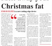 melt away your christmas fat