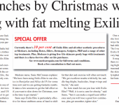 lose inches by Christmas with Exilis Elite