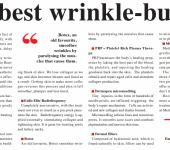 best wrinkle busters