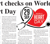 heart checks on world heart day