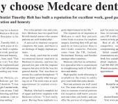 why choose medcare dental