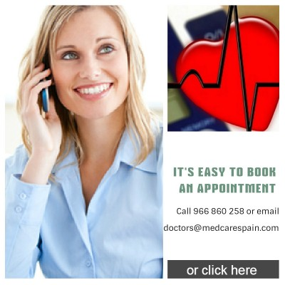 book an appointment medical