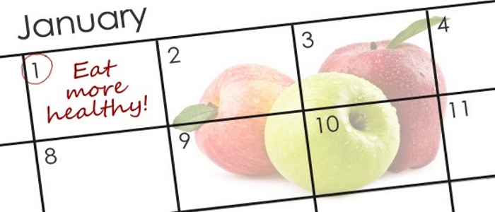 healthy new year calendar
