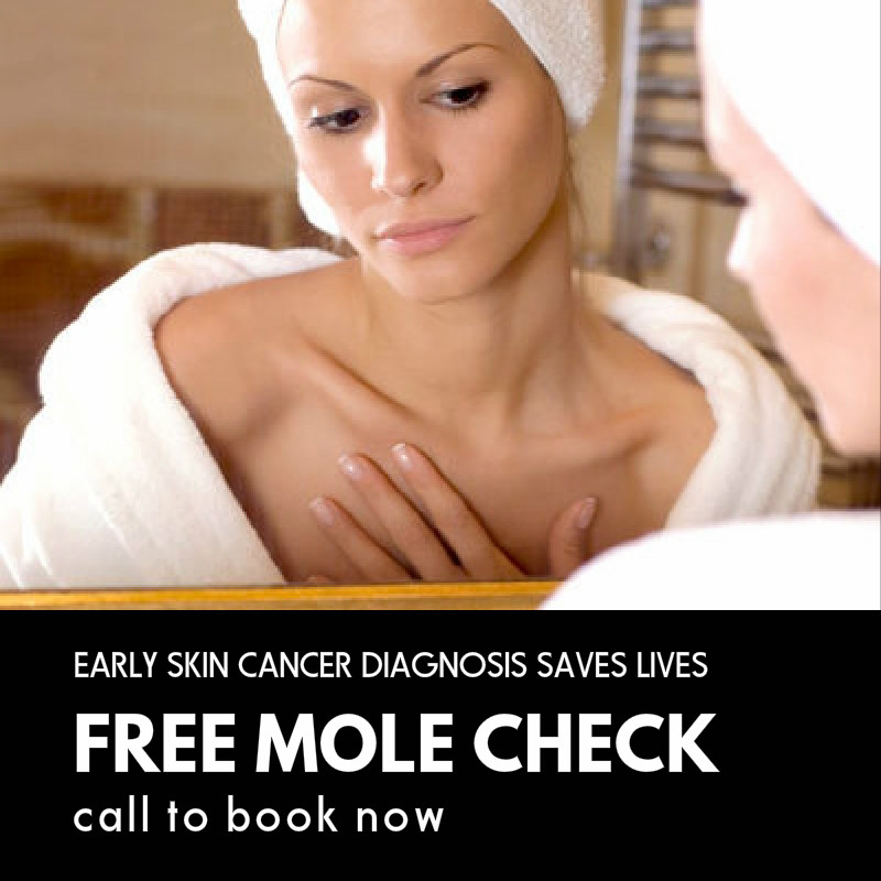 skin cancer free mole check