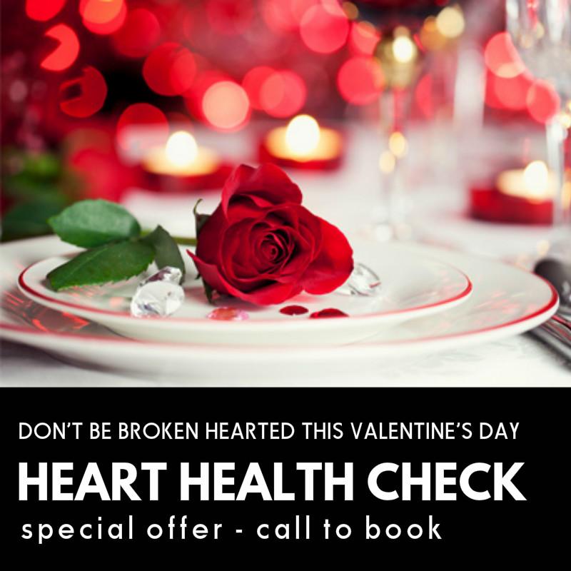 valentine heart check ad