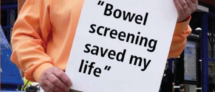 bowel screening saved my life