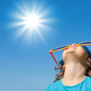 sunshine for vitamin D