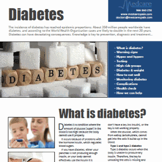 cover diabetes guide - featured