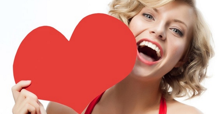 valentine smile
