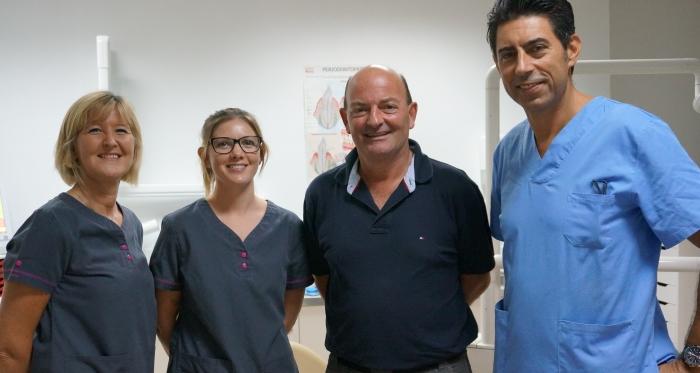 markus with medcare dental team