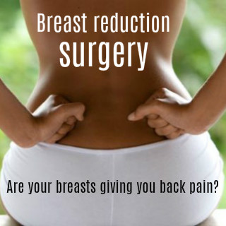 breast reduction surgery for back pain