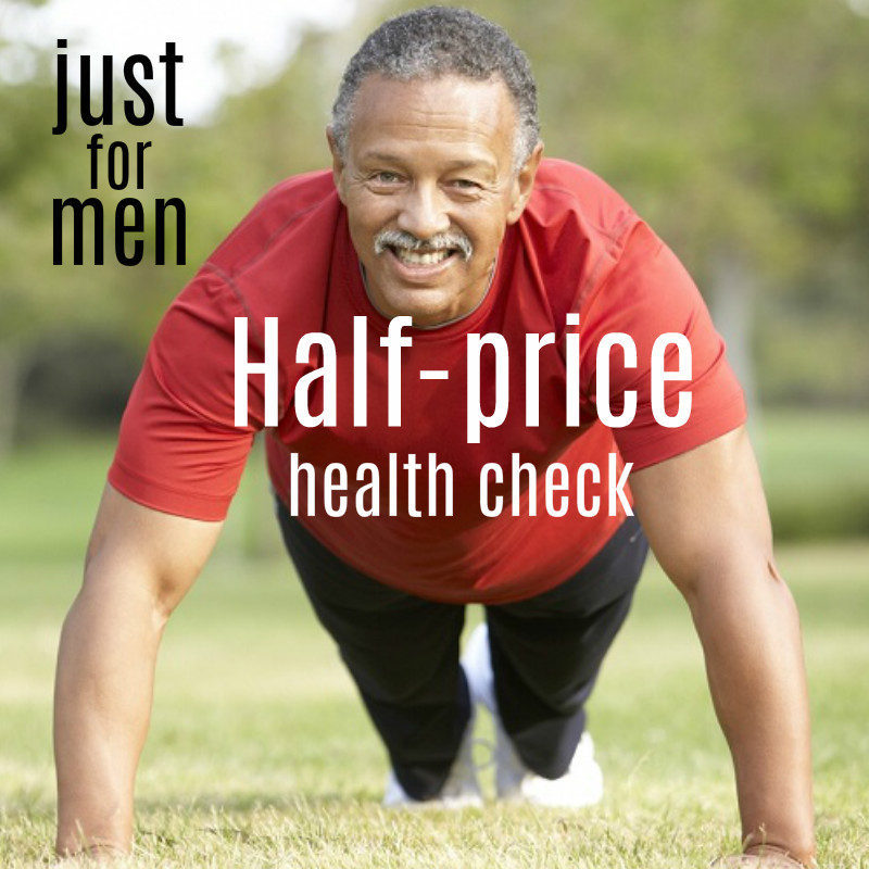 just for men health check